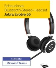 NEU Jabra Evolve 65 kabellos Stereo MS Headset Mikrofon PC & Handy USB Bluetooth