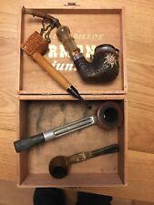 Joblot Of Vintage Smoking Pipes