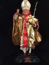 "19"" RARE 1994 Danbury Mint POPE JOHN PAUL II Porcelain Doll"