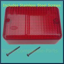 Land Rover Defender Fog Light Lens + Stainless Steel Screws Upto 1998 Bearmach