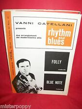 VANNI CATELLANI Folly + Blue Note 1967 Spartiti Music Sheet