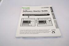 Canon Software Starter Guide (EN) 7117022 genuine English 2005 ver 26
