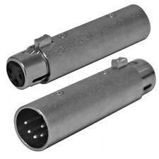 Adattatore Cannon XLR da Maschio 5 poli a  Femmina 3 poli - singolo pezzo AD3F5M