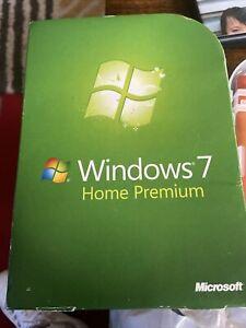 Windows 7 Home Premium DVD 32 & 64 Bit + Product License Key Original Boxed