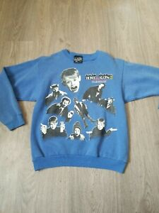 Vintage Home Alone 2 Sweater Lost In New York Youth Large Adult Small Blue Oasis