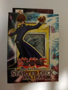 Yugioh Starter Deck Kaiba Unlimited Edition Yu-Gi-Oh 1996 NEW FACTORY SEALED