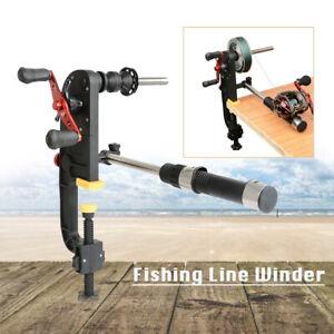 Fishing Line Winder Spooler System Machine Baitcasting Fishing Reel Line Winder