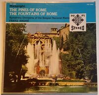 Respighi The Pines Fountains of Rome Franz André Telefunken Stereo TCS 18002