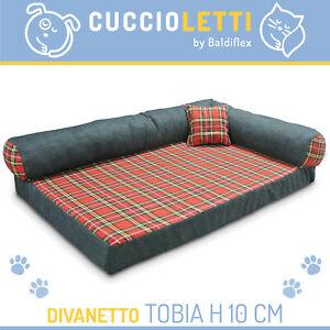 MORBIDA CUCCIA CUSCINO MATERASSINO LETTO CANE GATTO TOBIA by Cuccioletti