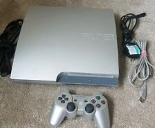 Very RARE PS3 Satin Silver 320GB Console + Controller  FREE UK POST