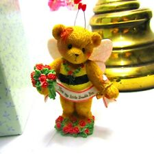 "Enesco Cherished Teddies Valentines Bee Bear ""Bee My Little Bumble Bee"" Mib"