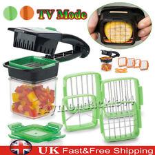 5 in1 Nicer Dicer Quick Food Fruit Vegetable Cutter Slicer Chopper Set Tool Home