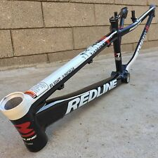 "Redline 2014 Flight Junior 24"" Frame R7 Black / White Bike Bicycle Frames"