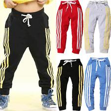 Baby Kids Boys Girls Sports Jogging Pants Joggers Kids Sports Bottom Sweatpants