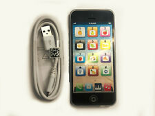 Toy Phone Baby Childrens Kids Education Learning iPhone Toy Gift 5s BLACK Smart