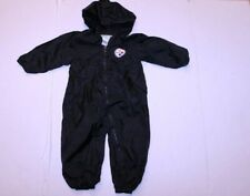 Infant/Baby Pittsburgh Steelers 24 Months Hooded Romper Outfit Jacket (Black) NF