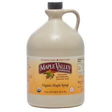 Maple Valley 128oz Grade A Dark & Robust (formerly grade B) Organic Maple Syrup