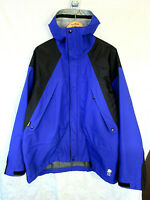Alpine Design Men's DAVOS GORE-TEX Supprescent Hooded Parka Shell Size XL blue
