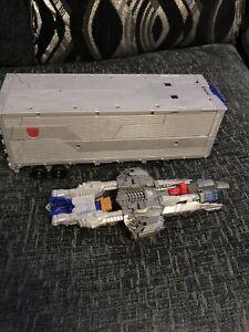 Transformers optimus prime Trailer Only Plus Blaster