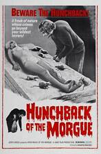 HUNCHBACK OF THE MORGUE Movie POSTER 27x40