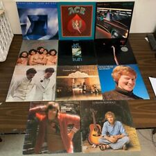 11 Classic Rock Vinyl Lp Lot- Jeff Beck Bonnie Raitt Santana Steely Dan