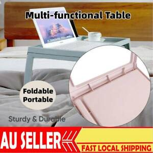 Laptop Table Bed Stand Desk Lap Tray Computer Portable Foldable Adjustable Hold