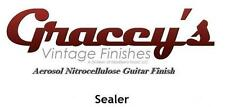 -Sealer- Gracey's Vintage Finishes Nitrocellulose Guitar Lacquer Aerosol.