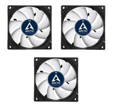 3 x Pack of Arctic Cooling F8 80mm Case Fans 2000 RPM, 3 Pin