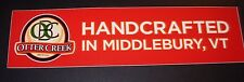 Otter Creek Brewing middlebury vermont bumper Sticker craft beer brewery