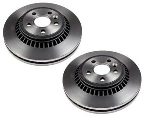 Pair Set of 2 Rear Fremax Vented Brake Disc Rotor 302 for Volvo S80 V70 XC70 EPB