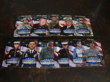 2008 Topps Football---Armed Forces Fans Of The Game--Comp. Set--11 Cards---NrMt