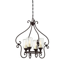 Savoy House Weston 4 Light Outdoor Chandelier in English Bronze New 1-1111-4-13