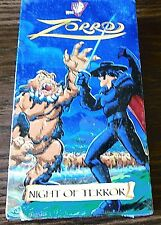 Zorro, Night of Terror (VHS, 1998 BRAND NEW) Kids Warner Bros. Animated
