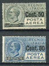 Kingdom of Italy 1927 Airmail soprastampati MNH ** Saxon s1501