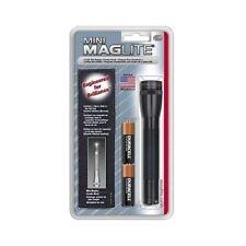 Mini Maglite 2 Cell AA Flashlight w/ Cordura Belt Holster M2AO1H