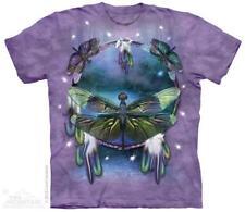 Alle Größen Regenbogen Schmetterling Traumfänger The Mountain T-Shirt 3401
