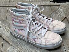 Girls Vans Unicorn Rainbows Sparkle Glitter Size 2 Youth