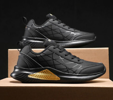 Men Running Shoes Outdoor Jogging Trekking Sneakers Lace Up Athletic Shoes