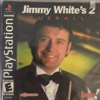 Jimmy White's Cueball 2 Playstation 1 PS1 Game Used Complete