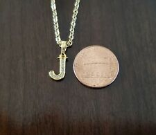 "18K Gold Filled Initial ""J"" Necklace"