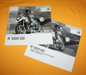 BMW R 1200 GS 2009 Prospekt Brochure Depliant Catalog Prospetto Folder