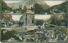 Matlock bath; 6 Views; 1910; jackson & son