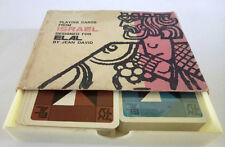 Vintage EL AL Elal Israel Airline Playing Cards JEAN DAVID - 2  Decks 1Sealed
