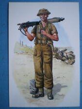 POSTCARD 1ST BTL ROYAL NORTHUMBERLAND FUSILIERS - FUSILIER ITALY 1944