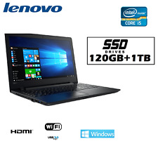 ORDENADOR ultrabook LENOVO INTEL i5 /120ssd+1tb/ WINDOWS 10 PROFESIONAL + OFFICE