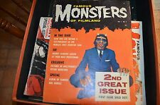 FAMOUS MONSTERS OF FILMLAND, VOL 1, NO 2 (1958) 2nd Ever Magazine