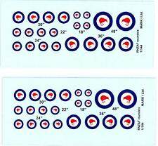 Mark I Decals 1/144 ROYAL NEW ZEALAND AIR FORCE ROUNDELS