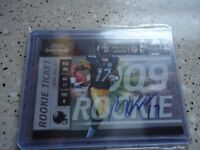 2009 PLAYOFF CONTENDERS ROOKIE AUTO MIKE WALLACE PITTS STEELERS