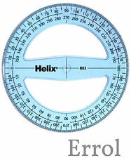 360 Degree Helix Protractor. 100mm Diameter. Angle Measure. Quick Post.