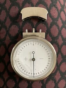 Vintage spherometer (optician's lens measure) Cracked Glass. Germany